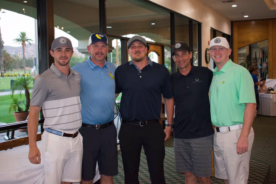 2018 Southern California Charity Golf Classic Winners
