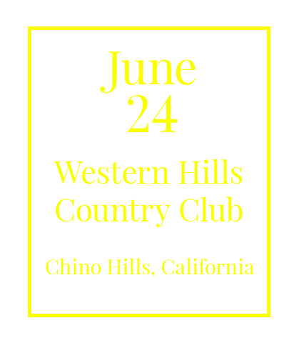 Southern California Charity Golf Classic on June 24, 2019, at Western Hills Country Club, Chino Hills, CA